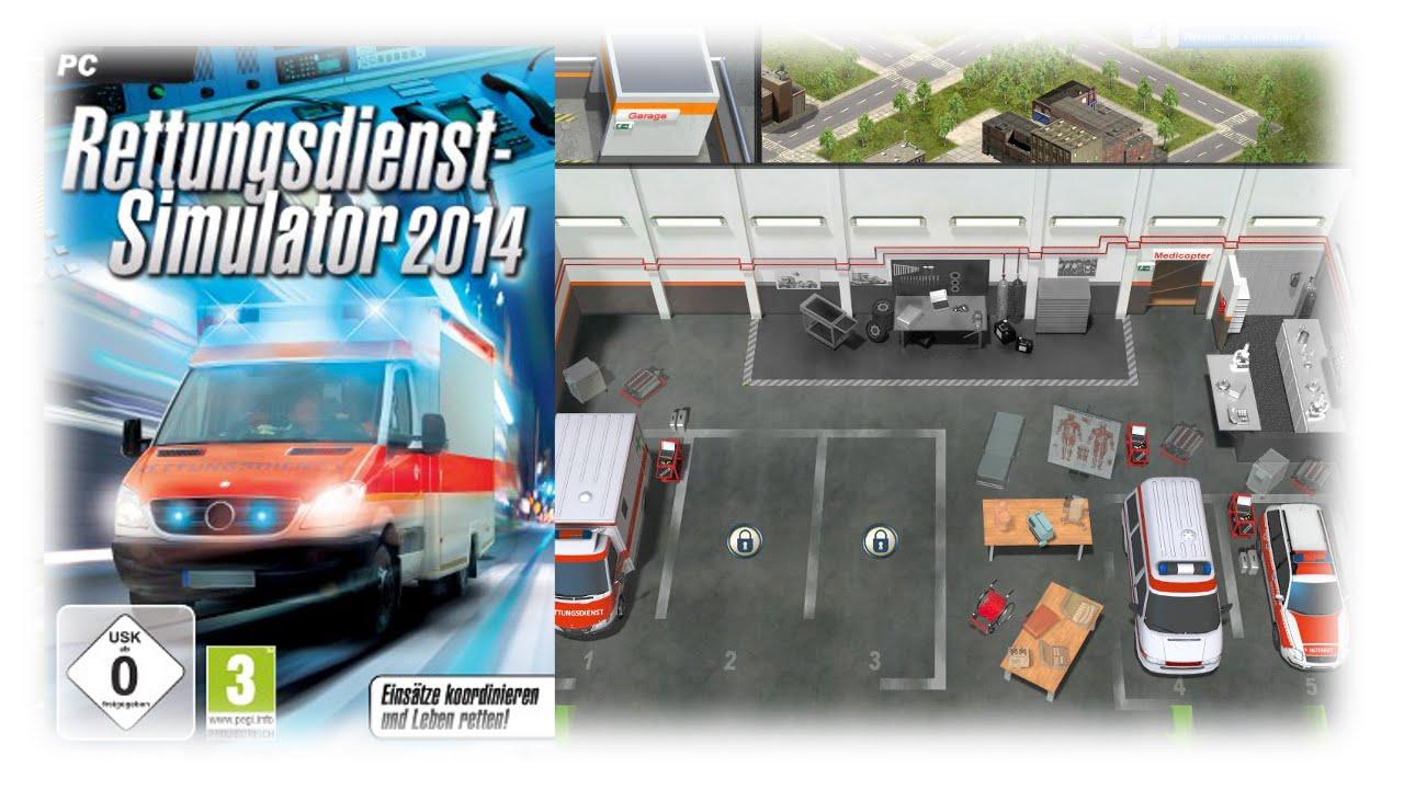 Rettungsdienst Simulator 2014 (PC/2013) | Let\'s Simulate - YouTube