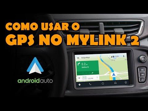 Vou te mostrar COMO USAR O GPS NO ANDROID AUTO do seu MYLINK 2!