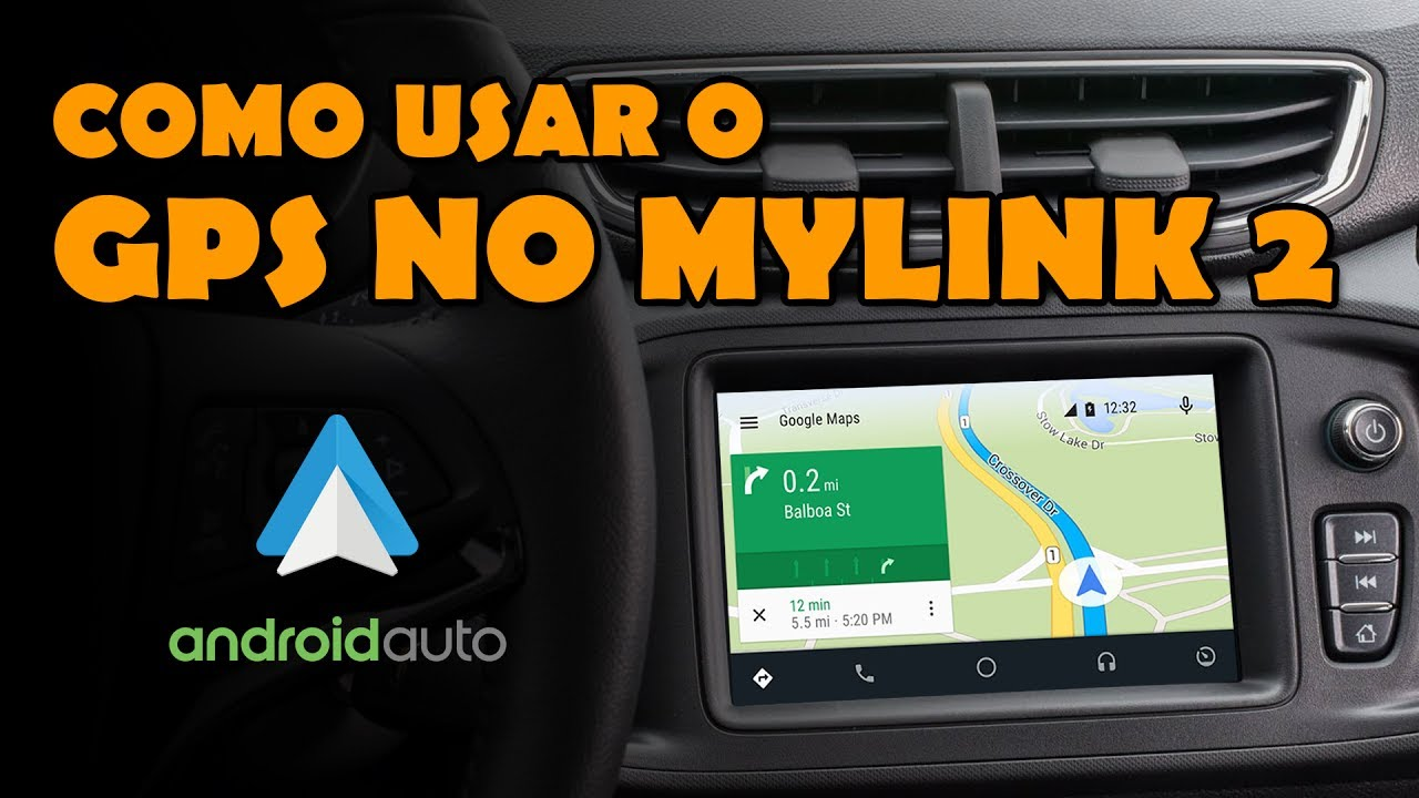 aprenda a usar o gps no android auto do seu mylink 2 youtube. Black Bedroom Furniture Sets. Home Design Ideas