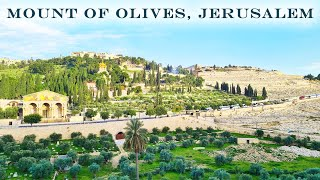 MOUNT of OLIVES, JERUSALEM TODAY. Virtual Tour