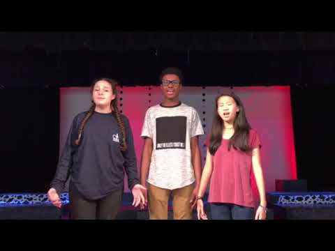 The Anthony School Star Spangled Banner 2018