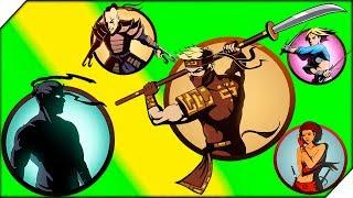 ЯСТРЕБ ПОДАРИЛ НАГИНАТУ - Shadow Fight 2 прохождение. Бой с тенью игра как мультик.