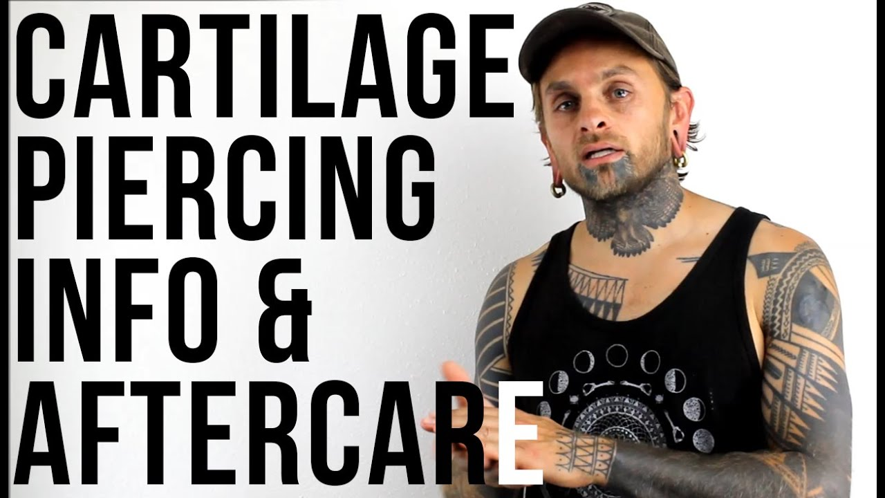 Cartilage Piercing Info & Aftercare | UrbanBodyJewelry com