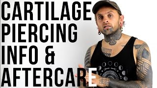 Cartilage Piercing Info & Aftercare | UrbanBodyJewelry.com