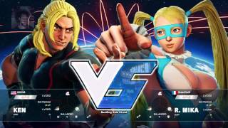 Let s Play Live - Street Fighter V Beta