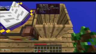Silkworm Infestation! Ultimate Sky Block Survival (Sky Factory 2 Episode 2)
