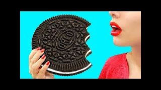 7 DIY Giant Candy vs Miniature Candy / Funny Pranks!