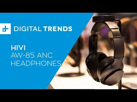 HiVi AW-85 ANC Headphones - Hands On at CES 2019