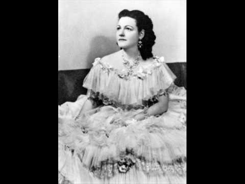 """Rina Gigli live in 1955 - """"Un bel di vedremo"""""""