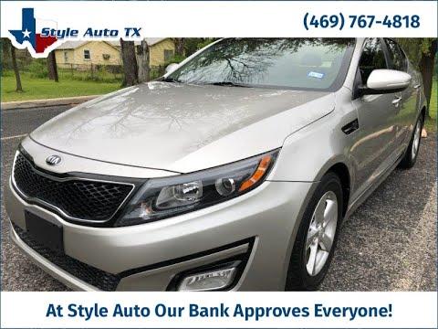 Buy Here Pay Here Arlington >> 2015 Kia Optima 4dr Sdn Lx Buy Here Pay Here Arlington