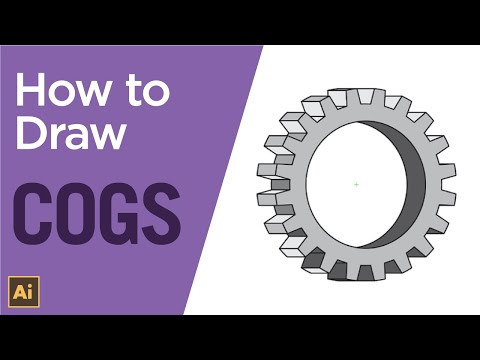 How to create a simple 3D cog or gear using Adobe ...