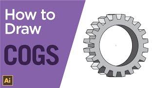 So erstellen Sie eine einfache 3D-cog oder Ausrüstung mit Adobe Illustrator