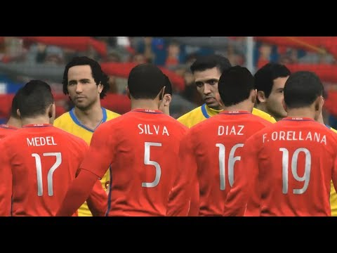 Romania vs Chile | International Friendly Match HD PC Gameplay PES 2017 Super Star