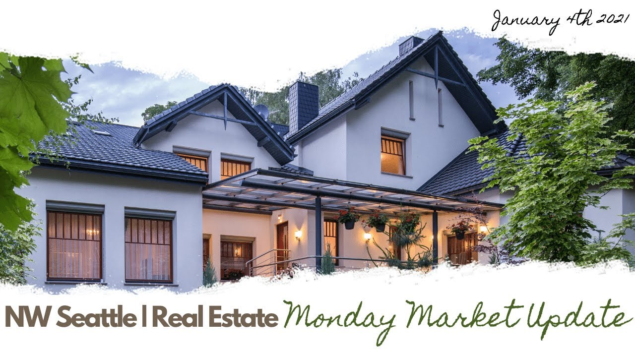 Monday NW Seattle Real Estate Market Update | January 4th, 2021