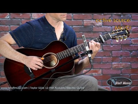 Taylor 522e 12-Fret Acoustic-Electric Guitar | N Stuff Music