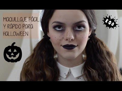 disfraz de halloween rapido y facil