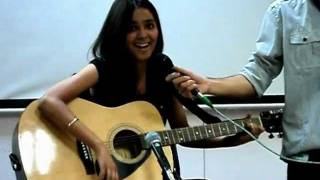 Shraddha Sharma (shraddharockin) Live Performance of Haal-e-Dil at IIT Delhi