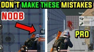 DON'T MAKE THESE MISTAKES IN PUBG MOBILE | BTX SIDDHARTH