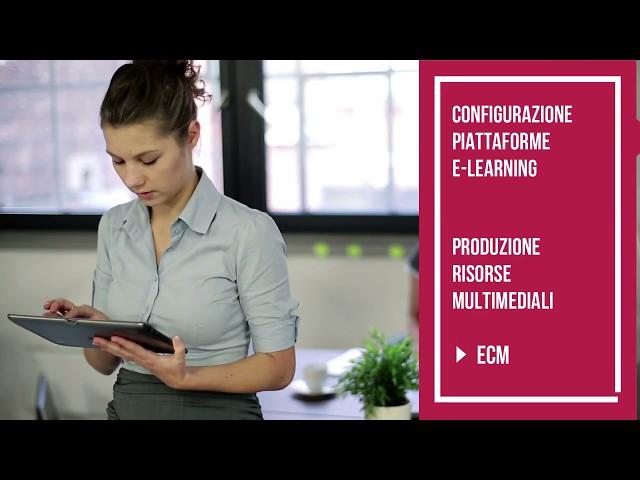 ECM elearning in sanità - produzione corsi online