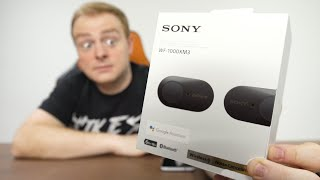 I didn't expect to be this impressed! (Sony WF-1000XM3 Unboxing)