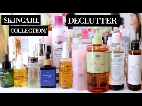 SKINCARE COLLECTION/ DECLUTTER 2018