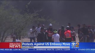Dozens Killed In Protests Ahead Of New U.S. Embassy Opening In Jerusalem