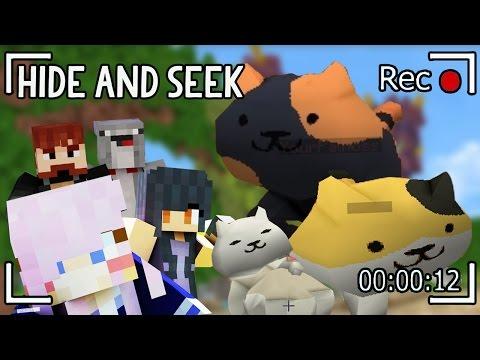 Kitty Domination | Minecraft Hide and Seek | Neko Atsume!