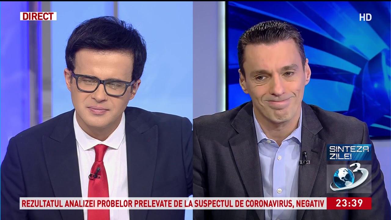 Mircea Badea: Nu există coronavirus în România. Are şi el mânrua lui!