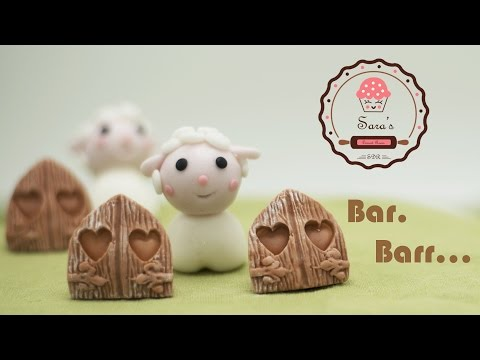 Easy Simple Cute Sheep Cake Topper In The Farm