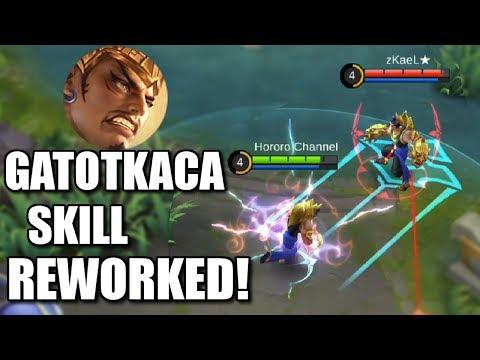 GATOT KACA SKILL REWORK THE BEST BUFF FOR THIS TANK!