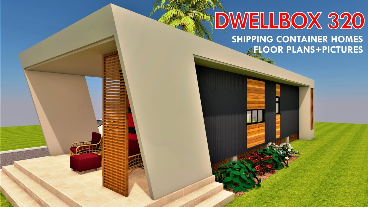 Shipping Container HOMES PLANS And MODULAR PREFAB Design Ideas | DWELLBOX  320