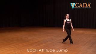 YCADA Dance - Glossary - Attitude (ex. Back Attitude Jump)