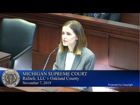 156849  Rafaeli, LLC V Oakland County