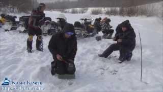 Зимняя рыбалка на р. Чумыш из Новокузнецка (январь, 2014).