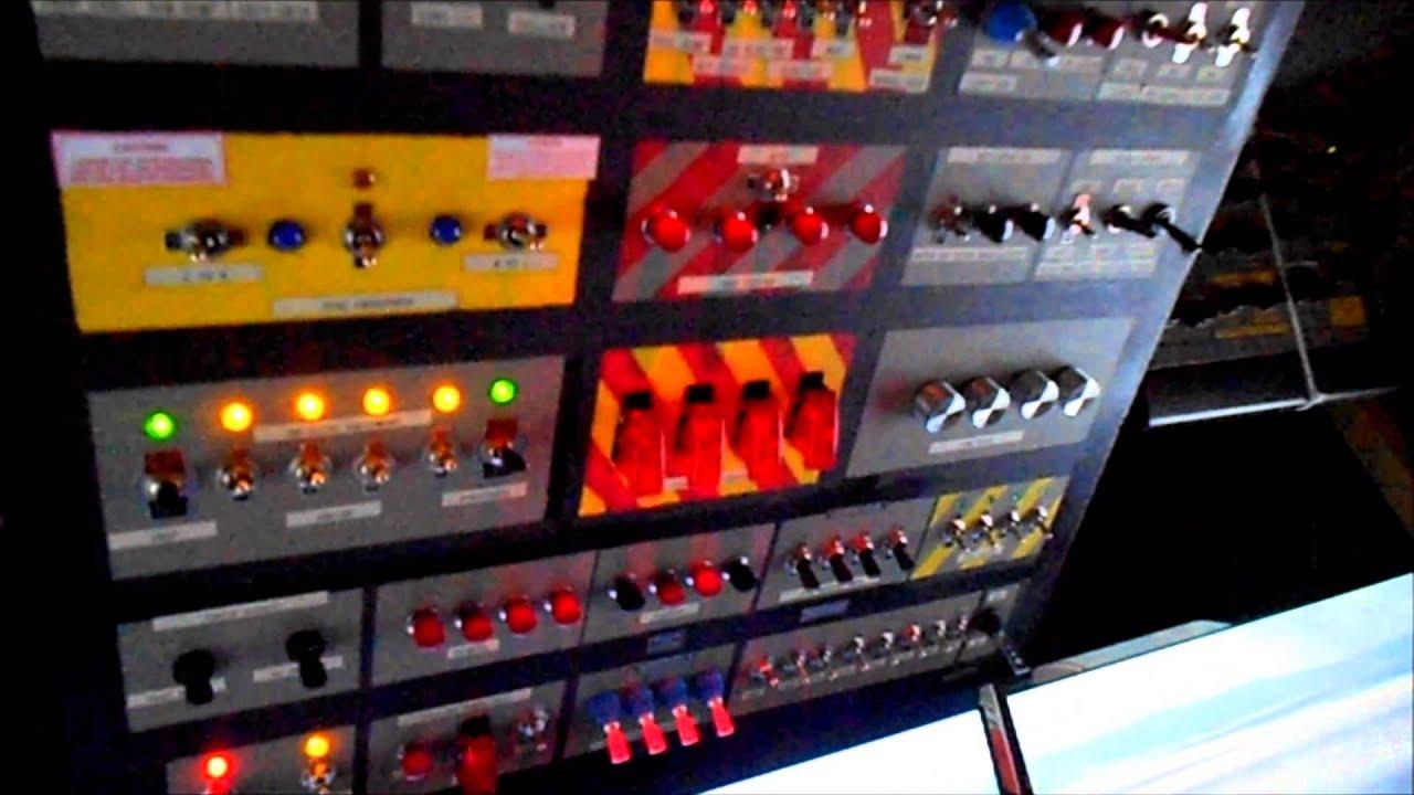 FSX Overhead Switch Panel  YouTube
