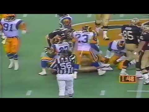 WWL-TV Sports News October 11, 1992 New Orleans Saints