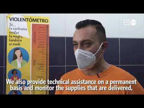 UNFPA brinda apoyo a centros de salud / UNFPA provides support to health centers