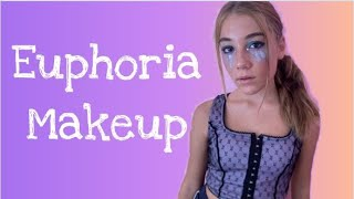 My Euphoria Makeup Tutorial | Step by Step | Clementine Lea