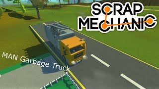 Scrap Mechanic MAN Semi-automatic Garbage Truck