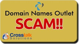Domain Name Outlet SCAM!