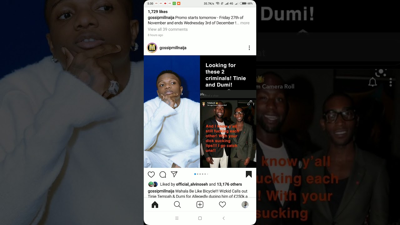 Wizkid and fans go after Tinie Tempah and Disturbing London for owing him at least £250k