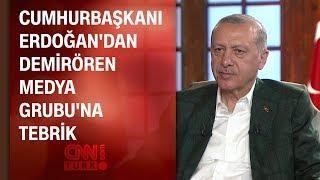 Cumhurbaşkanı Erdoğan'dan Demirören Medya Grubu'na tebrik