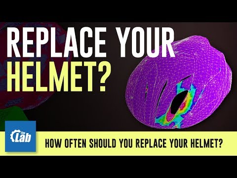 How often should you replace your helmet?