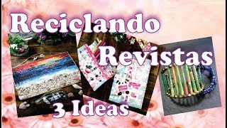 3 Ideas para Reciclar Papel de Revista