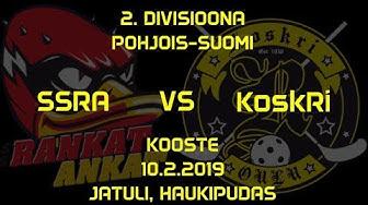 KoskRi vs SSRA 10.2.2019 @Jatuli, Haukipudas