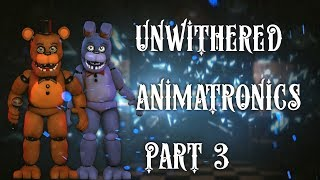 Speed Edit | Make Unwithered Animatronics(Part 3-Un Freddy and Un Bonnie)  by Alexander 133