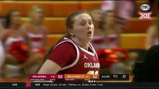 Oklahoma vs Oklahoma State Women's Basketball Highlights