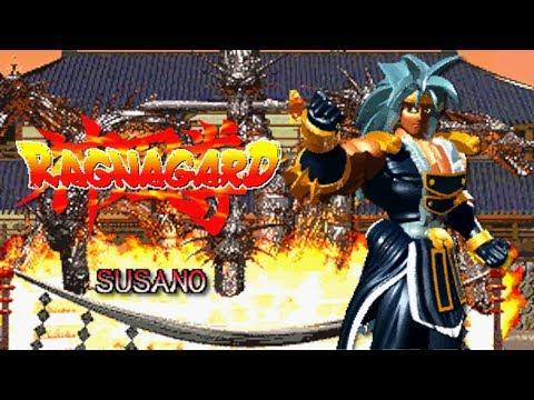 Ragnagard Susano Neo Geo MVS 1CC 神凰拳破壊神 スサノオ