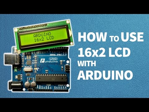 How to use 16x2 LCD with Arduino || Arduino tutorial