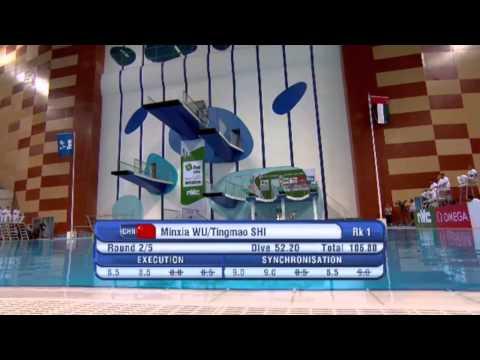 2015 World Series Dubai - Women's 3m Synchro Springboard Final